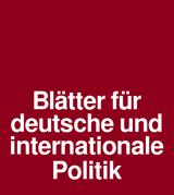 """""""Das Recht auf die Stadt"""" (Blätter für deutsche und internationale Politik)"""