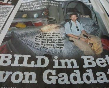 Im Bett mit Gaddafi
