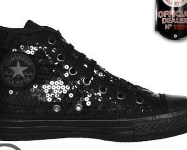 #Converse All Star Chuck Taylor Chucks 101720 Schwarz Black #Sequins #Pailletten