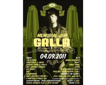 Videos vom Galla Memorial Jam