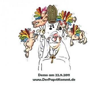 Der Papst darf im Bundestag reden; wir nicht einmal in seiner Nähe