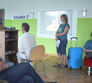 Grüne Städte? Zeitreise 2030 - Ausstellung zum Mitmachen in Hannover, Herbst 2011