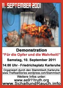 Demonstration Karlsruhe Heute