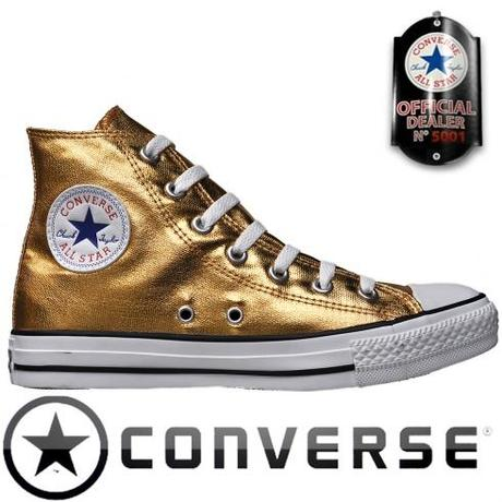 Converse Chuck Taylor All Star Chucks 118515 Hi Gold HI