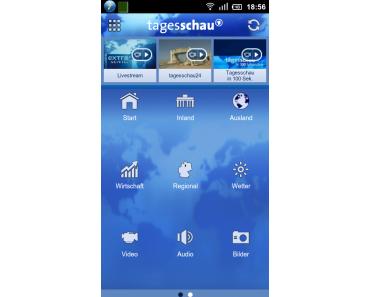 Tipp: Tagesschau für Android