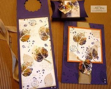 Rückblick Workshop Herbstkarten/ -verpackungen I.