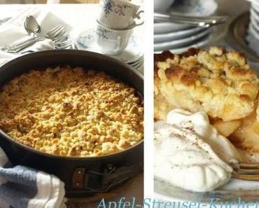 Sonntagssüss: Apfel-Streuselkuchen