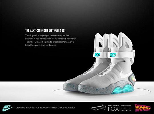 Back To The Future Shoes Nike Michael J Fox