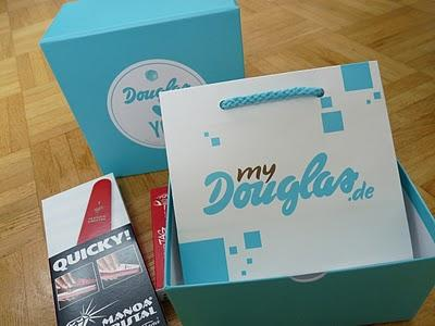 Douglas Box of Beauty September 2011 - unpacked