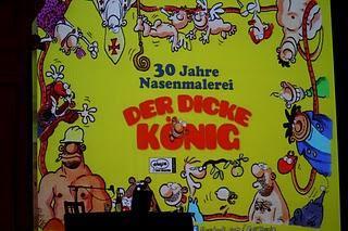 Der Dicke König in Berlin