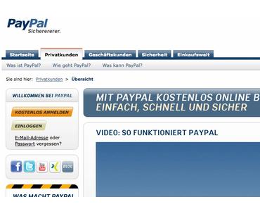 Mit Paypal auch außerhalb des Internets zahlen