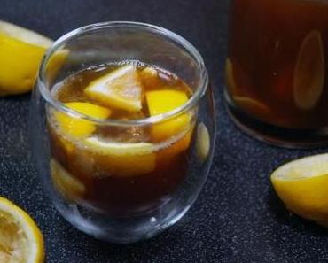 Erkältungskiller Nr 1: Ingwer-Zitronen-Limonade