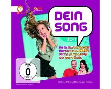 Die Gewinnerin des KI.KA Komponistenwettbewerbs DEIN SONG 2011 und der Graf von Unheilig live bei TRIBUTE TO BAMBI