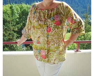 Sommerbluse (Butterick 5612)