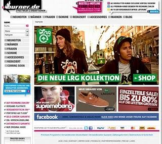 Shopvorstellung, Burner.de