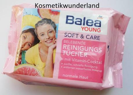 Review | Balea Young soft care Belebende Reinigungstücher