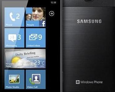 Windows Phone Samsung Omnia W offiziell vorgestellt