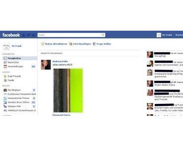 """Ich will """"mein altes"""" Facebook wieder haben!"""