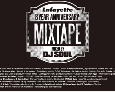 DJ Soul x Lafayette – 8th Anniversary Mixtape