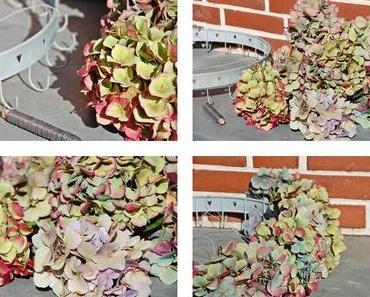 Hortensienkranz - floral wreath