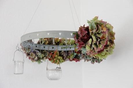 hortensienkranz floral wreath. Black Bedroom Furniture Sets. Home Design Ideas