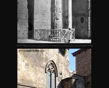 Der Augustus Tempel in Barcelona