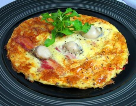 Omelett mit Austern und Speck (Hangtown Fry)