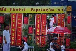 Phuket Vegetarian Festival 2011 - Street Procession