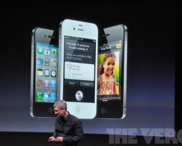 iPhone 4S vorgestellt – altes Design, neuer Inhalt