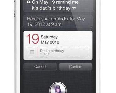 Siri – intelligente Sprachsteuerung auf dem iPhone 4S