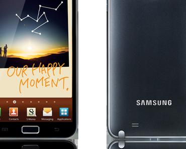 Samsung Galaxy Note: ab sofort für 699 Euro verfügbar