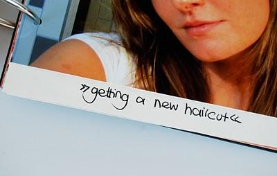 27@27: no11 // getting a new haircut
