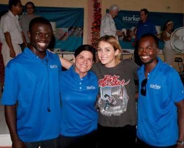 Miley Cyrus eröffnent Schule für hilfsbedüftige Kinder auf Haiti