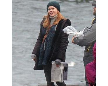 Man of Steel: Erstes Foto von Amy Adams am Set