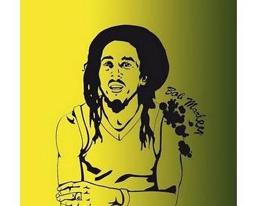 K&L; Wall-Art - Bob Marley