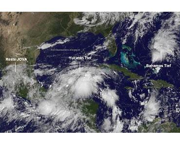Florida und US-Ostküste: Da könnte nächste Woche schon wieder einiges zusammenkommen