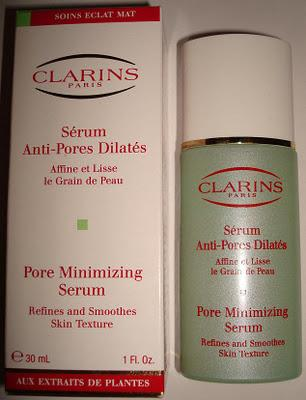 clarins serum anti pores dilates. Black Bedroom Furniture Sets. Home Design Ideas