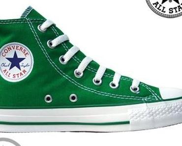 #Converse All Star Chucks Core Sondermodell 1J791 Celtic Green HI