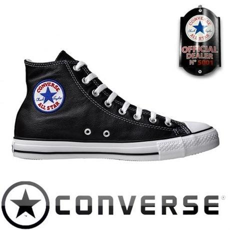 Converse All Star Chuck Taylor Chucks 1S581 Leder Schwarz I