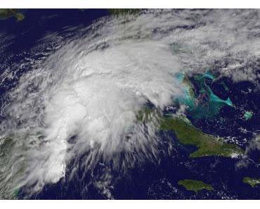 Potenzieller Tropischer Sturm RINA verlässt Yucatán - jetzt Florida im Visier (mit Live-Stream)
