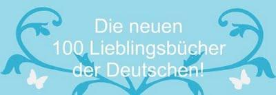 Die neuen 100 Lieblingsbücher der Deutschen!