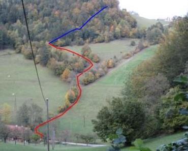 Erkundungs- und Dokumentationstour von Furth/Triesting aus, 14.10.2011