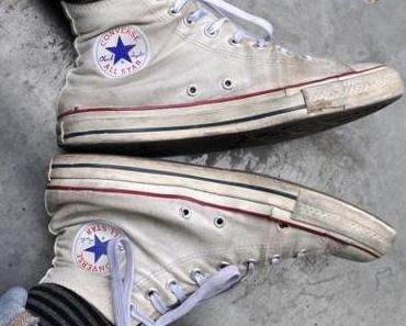 #Converse Chuck Taylor All Star Chucks #M7650 Optical White Weiß HI Vintage