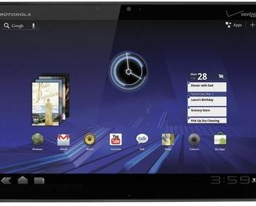 Motorola Xoom bekommt Android 4.0 Ice Cream Sandwich-Update.
