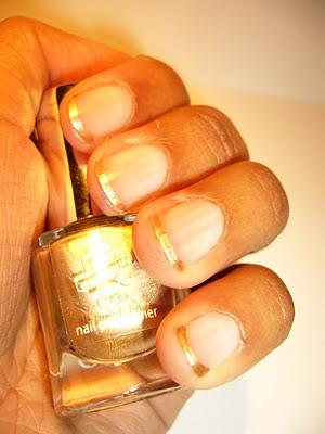 Swatch | P2 Most Wanted LE | Nail Polish Liner No. 010 Golden Ivy