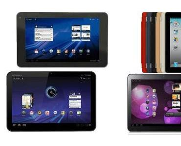 Tablets überholen erstmals Netbooks. iPad's ausschlaggebend.