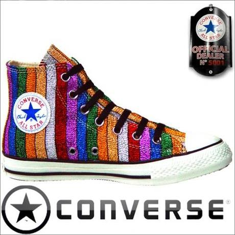 Converse Chuck Taylor All Star Chucks 101719 Multi Color Stripes HI