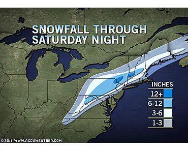 Schneesturm USA: Dem Osten der Vereinigten Staaten steht ein gewaltiger Oktober-Wintersturm bevor - mit Liveticker, Fotos, Videos und Live Stream