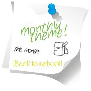 [BUCHTHEMA] monthly theme! - November 2011 - Back to School!