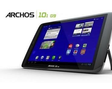 Archos 101 G9 und 80 G9 Tablets erhalten Android 4.0 Ice Cream Sandwich-Update.